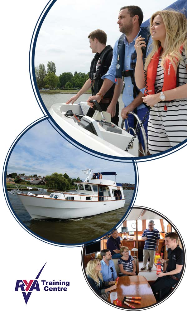 RYA motorboat training in Norfolk and Suffolk
