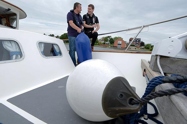 Boat training courses Norfolk
