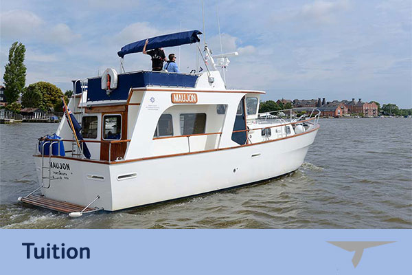 Bespoke boat training in Suffolk and Norfolk