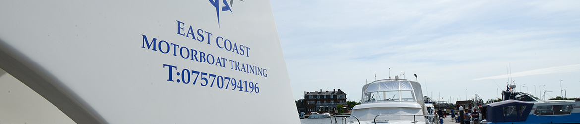 boat training in Norfolk and Suffolk